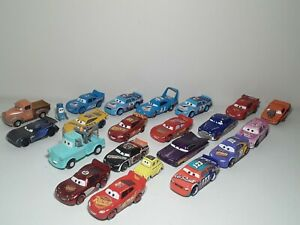 Mixed Lot of 22 Disney Pixar Cars Movie Diecast Vehicle Toys