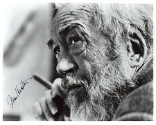JOHN HUSTON SIGNED 8x10 PHOTO DIRECTOR MALTESE FALCON AFRICAN QUEEN BECKETT BAS