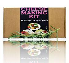 2x Cheese Making KIT Mozzarella & Ricotta Great Gift Present Birthday