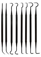 """8pc Gun Cleaning Double Ended Pick Nylon Set Crafts Electrical Auto - 7-1/4"""""""
