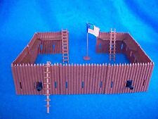Classic Toy Soldiers Fort Apache Walls w/ firing slits, & Cannon ports