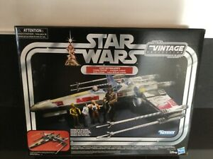 Star Wars The Vintage Collection Luke Skywalker Red 5 X-Wing Fighter mint box