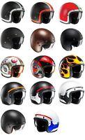 HJC FG-70S Motorbike Motorcycle Open Face Road Crash Lid Helmet
