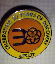 DISNEY PIN CAST EXCLUSIVE EPCOT 30th ANNIVERSARY 30 YRS OF DISCOVERY  TRADE ONLY