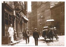 New 1907 German Bartender @ Centre & Broome Soho New York City Nyc Post Card !
