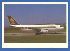 Singapore Airlines Airbus A310-300  Postcard
