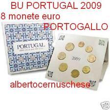 2009 Divisionale 8 monete EURO PORTOGALLO BU portugal