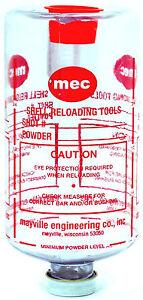 MEC 6 INCH SHOT, POWDER BOTTLE
