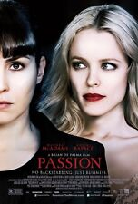 Passion movie poster - Noomi Rapace, Rachel Mcadams - 11.5 x 17 inches