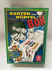 Ass Altenburger Spielesammlung Würfel und Kartenbox 22574102  NEU OVP # G380