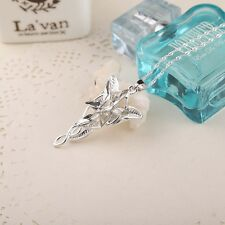"16""  Crystal Arwen's Evenstar Elf Princess Necklace Girls Lady's' Party Gift"