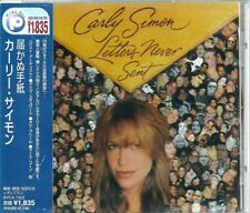 Carly Simon Letters Never Sent Japan CD w/obi BVCA-7400