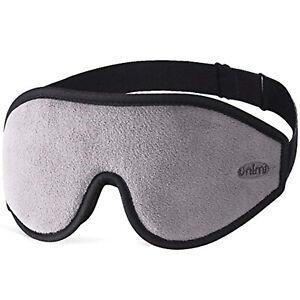 Sleep Mask Ultra Soft Breathable Eye Mask 100% Blackout Eye Shades For Women Men