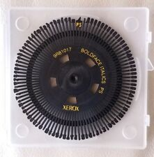 Xerox 9R81017 Boldface Itlalics PS  daisywheel Memorywriter typewriter case