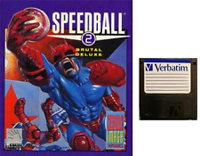 "SPEEDBALL 2 : floppy disc 3,5"" Commodore Amiga backup game disk (READ)"