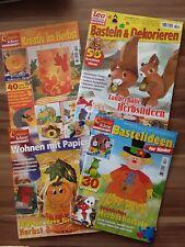 4 Bastelhefte, Herbst, Creativ Idee, Lea Special Basteln