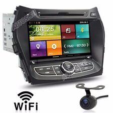 Car DVD GPS Stereo Radio Nav For Hyundai IX45 Santa Fe 2013 - 2016