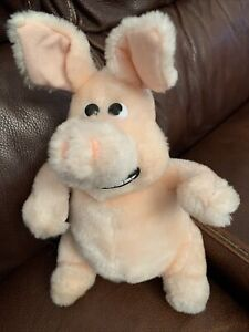 Lefray Ltd Vintage Aardman Creature Comforts Plush Martin The Pig Soft Toy