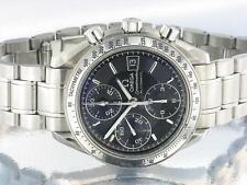 Omega speedmaster homme chronographe montre automatique noir avec Omega original box