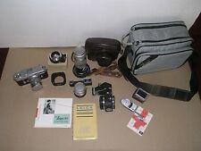 Leica M3 D/S w/ Meter, Summarit 50mm/1.5, 35mm/2.8, 135mm/4.5 & Visoflex +adapt