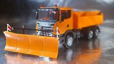 * Herpa Cars 306492  Scania R Winter Services Truck with Plough 1:87 Scale