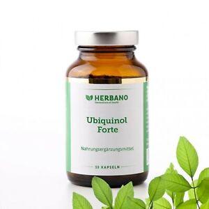Ubiquinol Forte Q10 - 30 Kapseln / Hochdosiertes reines Ubiquinol