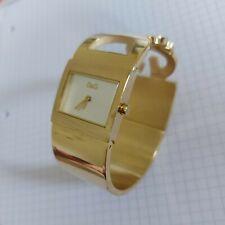 Dolce & Gabbana D&G Damenuhr,  Spangenuhr, Gold, modern, guter Zustand