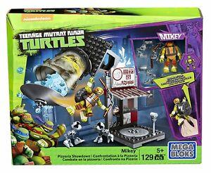 Teenage Mutant Ninja Turtles - Mikey Défi En Pizzeria Kit Dmx51 Mega Bloks