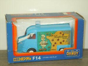 Citroen H Truck La Porbonne Paris - Tomica Dandy F14 Japan 1:43 in Box *41379