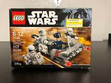 Lego Star Wars First Order Transport Speeder Battle Pack (75166) *Very Damaged*