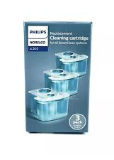 Philips Norelco - Cleaning Cartridge for SmartClean Systems (3-Pack) JC303