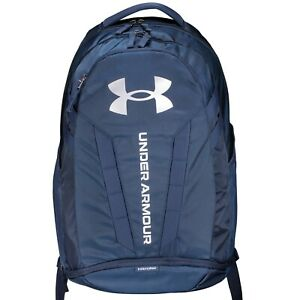 Brand New! Under Armour Hustle 5.0 Backpack Navy 408