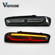 Pair LED Rear Lights Assembly Fit For Chevrolet Camaro 2016-2018 LED Tail Lamp
