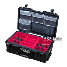 New Padded Divider Set  +Lid Organizer Fits New Pelican 1535 1519  (No Case)