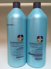 Pureology Strength Cure Shampoo & Conditioner 33.8oz (1L)  **NEW PRESENTATION**