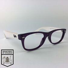 RAY-BAN eyeglasses PURPLE MARBLE RECTAMGULAR glasses frame MOD: RB5184 2432