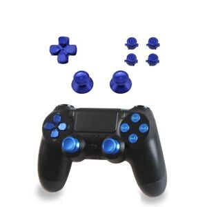 Aluminium Tasten für PS4 Controller Bullet Buttons Alu Sticks & DPad Modding Set