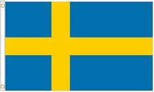 More details for sweden 5'x3' heavy-duty nylon flag