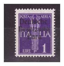 ZARA  1943  POSTA AEREA -  LIRE 1  -  PRIMO  TIPO   NUOVO **