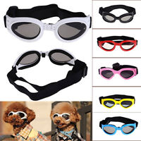 1 pair SMALL PET DOG Goggles Doggles  SUNGLASSES UV Eye ProtectionVE