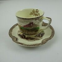 Johnson Brothers Old Britain Castles Tea Cup and Saucer made in England