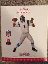 2017 Hallmark Football Legends Carolina Panthers Cam Newton Ornament New In Box