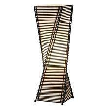 Adesso Stix 24-1/2 in. Black Cane Table Lantern 4045-01