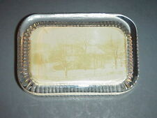 Washington's Headquarters Valley Forge Paperweight Glass