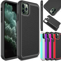 For iPhone 11/11 Pro Max/XS Max Case Slim Shockproof Rugged Rubber Armor Cover