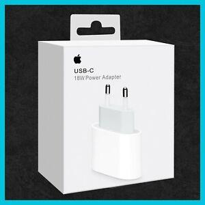 Original Apple 18W iPhone 12 / 12 Pro Max Netzteil Ladegerät USB-C Power Adapter