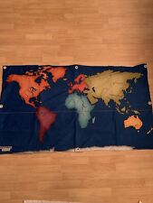 Discovery kids world map wall banner