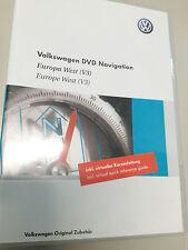 Volkswagen VW Navigation DVD 2008 Europa West V3 RNS 510 RNS Trinax/Columbus