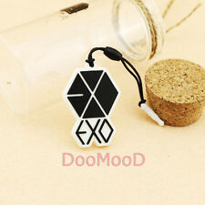 KPOP EXO Mobile Cell Phone Pendant Strap Charm Anti-dust Jack Plug Cover Ear Cap