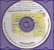 Cherokee Census - Indian Territory 1900